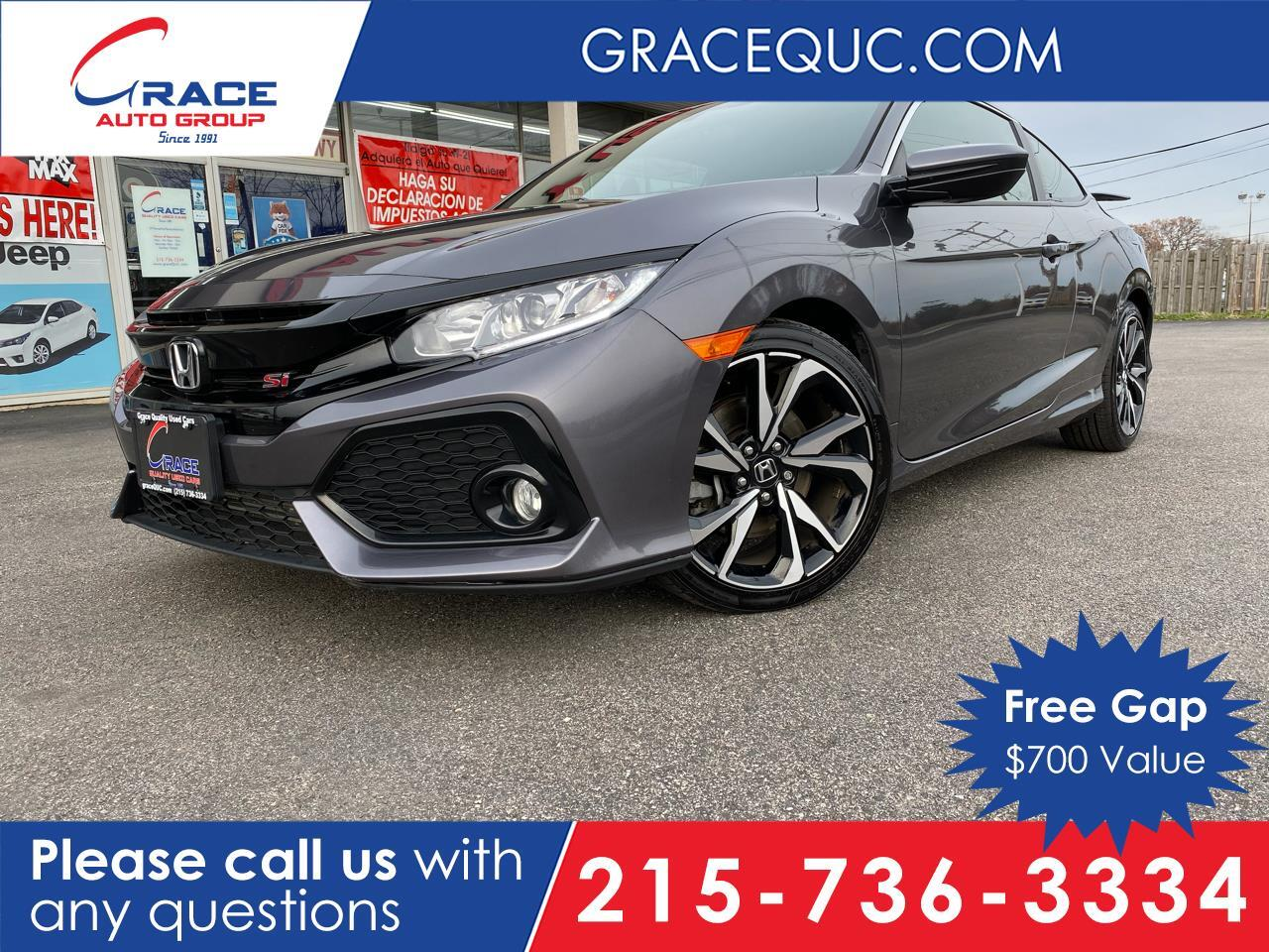 2017 Honda Civic Si Coupe 6-Speed MT