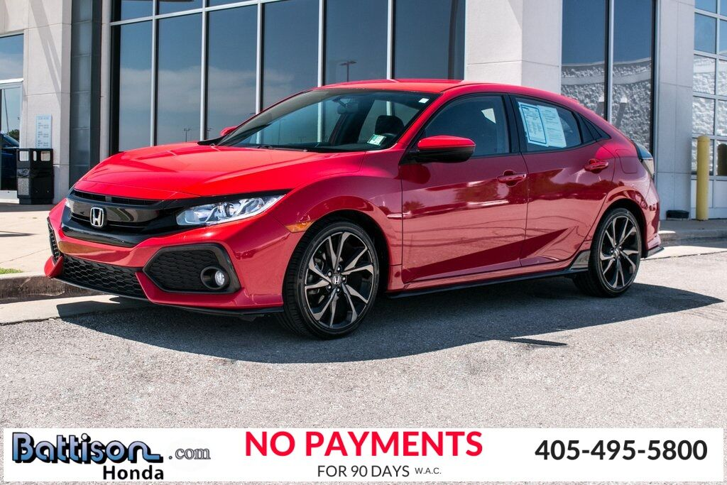 2017_Honda_Civic_Sport_ Oklahoma City OK