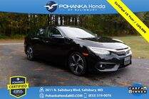 2017 Honda Civic Touring ** NAVI ** Pohanka Certified 10 Year / 100,000 **