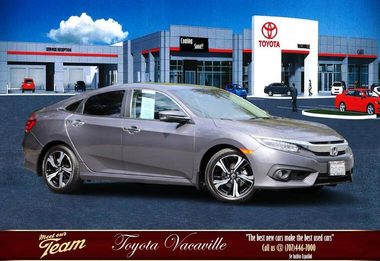 2017 Honda Civic Touring Sedan Vacaville CA