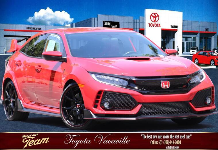 2017 Honda Civic Type R Touring Hatchback Sedan Vacaville CA
