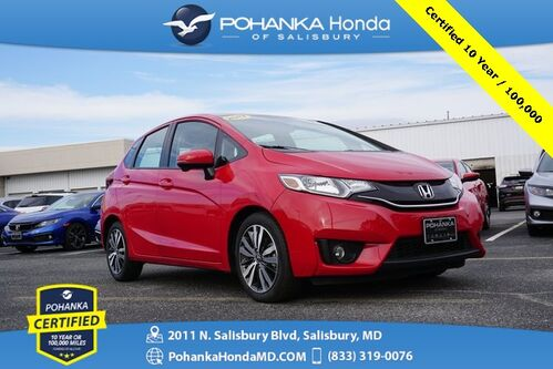 2017_Honda_Fit_EX-L w/Navigation ** Pohanka Certified 10 Year/100,000_ Salisbury MD