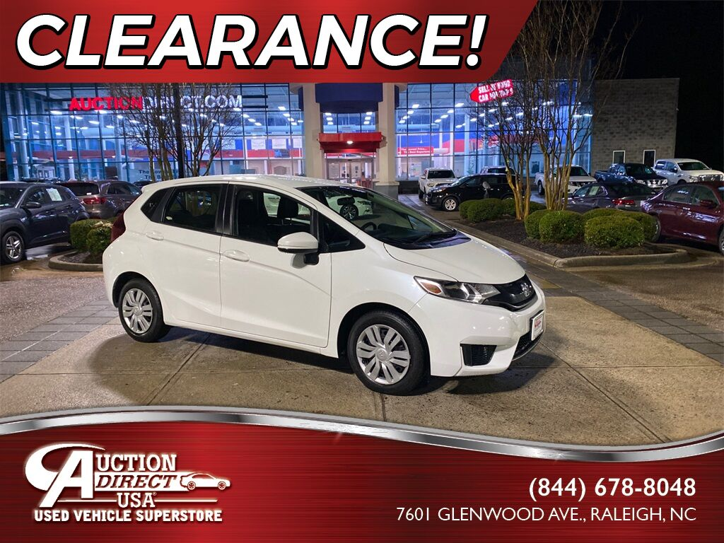 2017 Honda Fit LX Raleigh NC