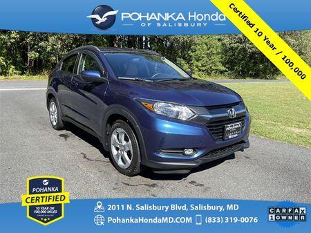 2017_Honda_HR-V_EX-L w/Navigation ** Pohanka Certified 10 Year / 100,00_ Salisbury MD