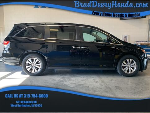 2017_Honda_Odyssey_SE_ West Burlington IA
