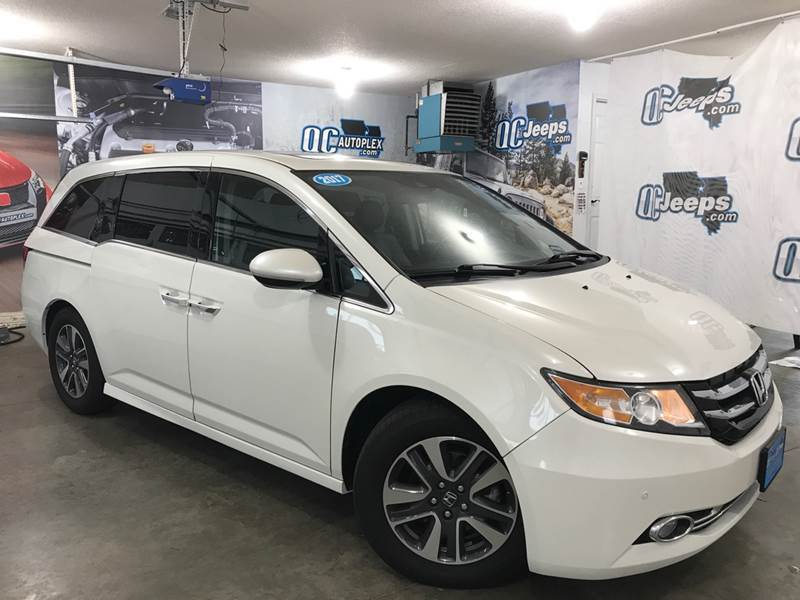 2017 Honda Odyssey Touring Elite 4dr Mini Van