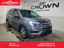 2017_Honda_Pilot_4WD 4dr EX-L w/Navi/***2019 BLOW OUT SALE***/ heated steering wheel & seats/ navigation sys/ leather grey interior_ Winnipeg MB