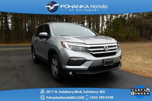 2017_Honda_Pilot_EX-L AWD ** LEATHER & SUNROOF ** ONE OWNER **_ Salisbury MD