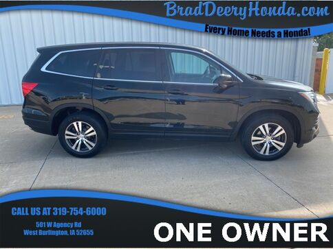 2017_Honda_Pilot_EX-L_ West Burlington IA