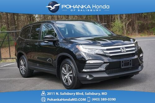 2017_Honda_Pilot_EX-L w/Navigation ** SUNROOF & SIDE VIEW CAMERA **_ Salisbury MD