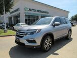 2017 Honda Pilot EXL 2WD LEATHER SEATS, SUNROOF, HTD FRONT STS, PUHS BUTTON START, AUTO LIFTGATE, RIGH BLIND SPOT CAM