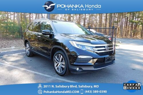 2017_Honda_Pilot_Elite AWD ** NAVI & DVD ** ONE OWNER **_ Salisbury MD