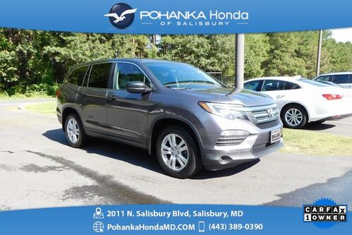 2017_Honda_Pilot_LX ** 1 Owner ** Honda True Certified 7 Year/100,000_ Salisbury MD