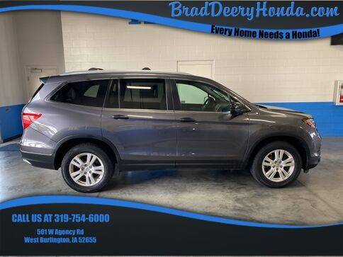 2017_Honda_Pilot_LX_ West Burlington IA