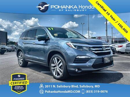 2017_Honda_Pilot_Touring ** Pohanka Certified 10 Year / 100,000 **_ Salisbury MD