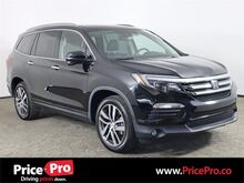 2017_Honda_Pilot_Touring AWD w/Rear DVD/Heated Leather/3rd Row_ Maumee OH