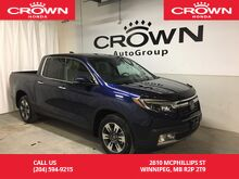 2017_Honda_Ridgeline_Touring /4WD/EXECUTIVE DEMO/NO ACCIDENTS/NAVIGATION/SUNROOF/HEATED SEATS/_ Winnipeg MB