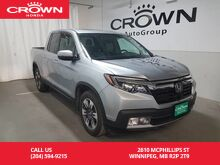2017_Honda_Ridgeline_Touring/LOW KMS/ BACK UP CAM/ HEATED SEATS/ PUSH START BUTTON/ SUNROOF_ Winnipeg MB