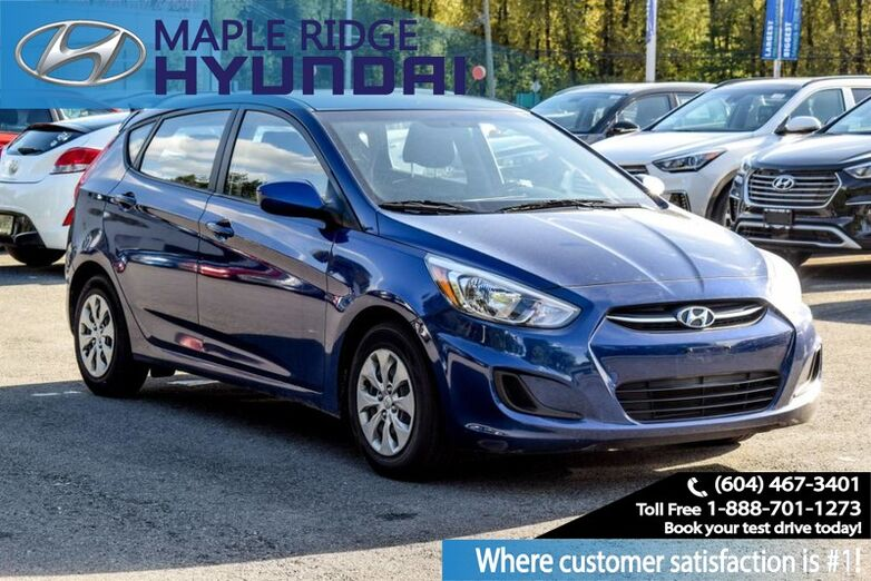 2017 Hyundai Accent Auto, GL, Bluetooth, Great value, Local Car! Maple Ridge BC