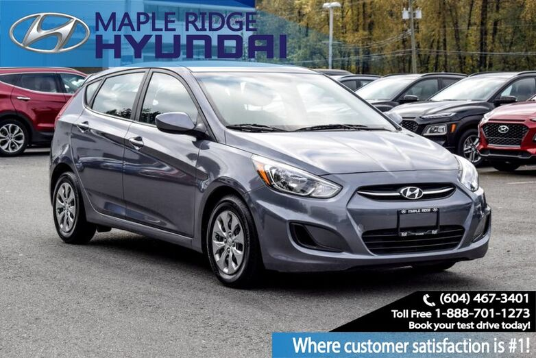 2017 Hyundai Accent Auto, GL, Bluetooth, Power Group, Local Car! Maple Ridge BC