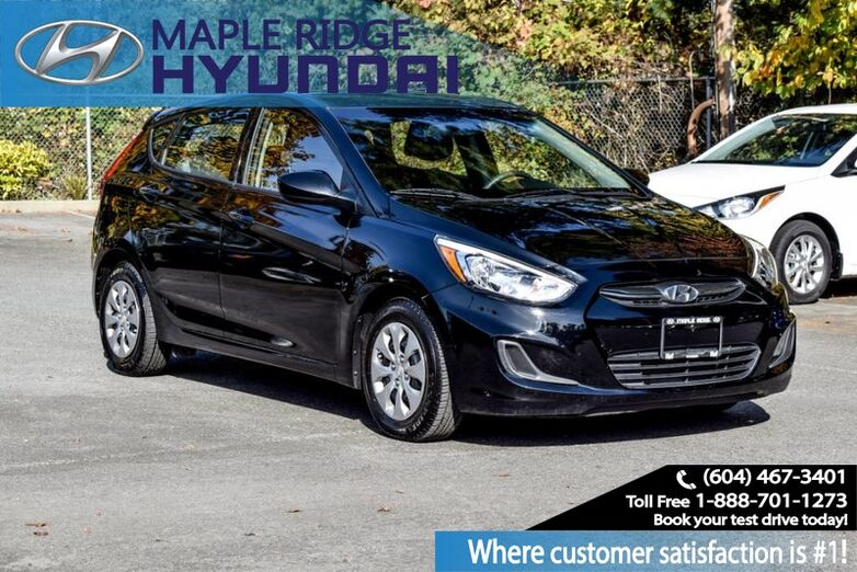 2017 Hyundai Accent Bluetooth, Air Cond, Keyless Entry, Power Group Maple Ridge BC