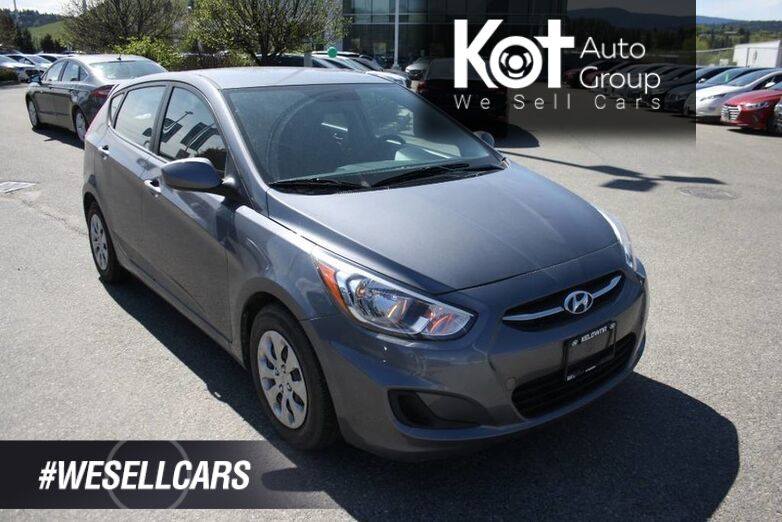 2017 Hyundai Accent GL Bluetooth, power options, Heated seats. Kelowna BC
