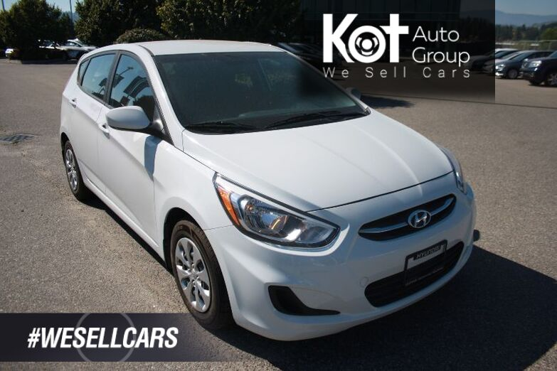 2017 Hyundai Accent GL LOW KMS! BLUETOOTH! HEATED SEATS! POWER OPTIONS! Kelowna BC