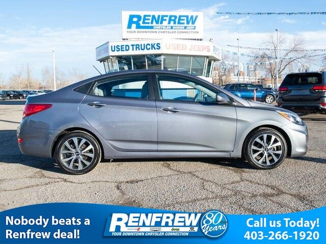 2017 Hyundai Accent LE, Sunroof, Remote Start, Heated Seats, Bluetooth, SiriusXM Satellite Radio, Air Conditioning Calgary AB