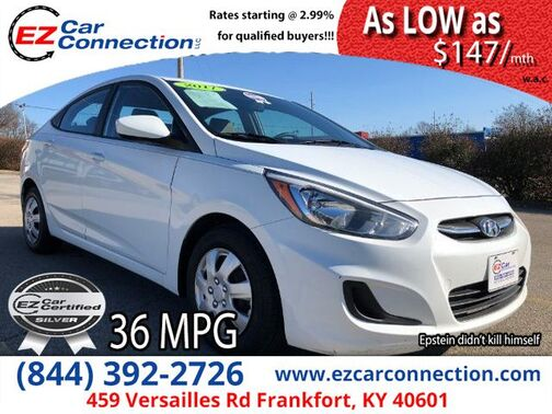 2017_Hyundai_Accent_SE 4-Door 6A_ Frankfort KY