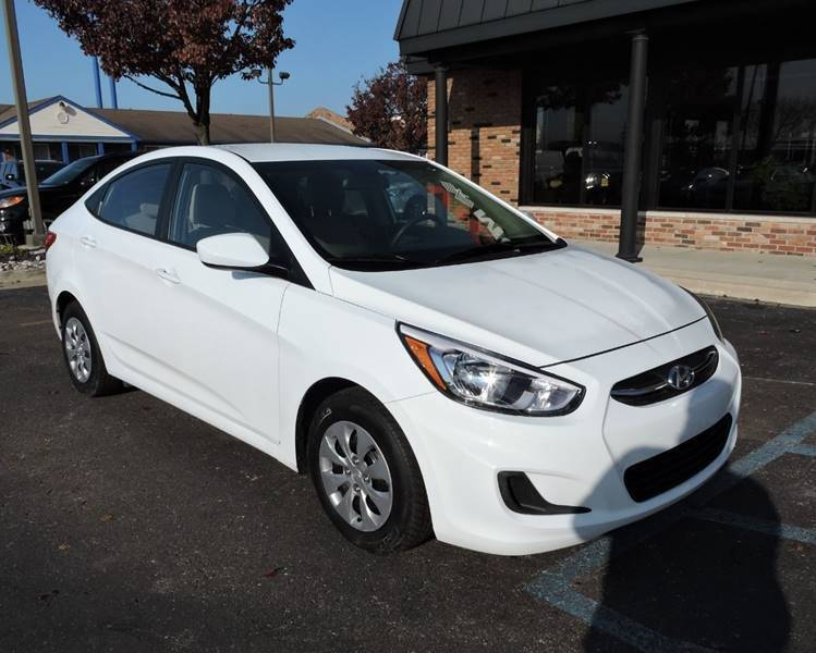 2017 Hyundai Accent SE 4dr Sedan 6A Chesterfield MI