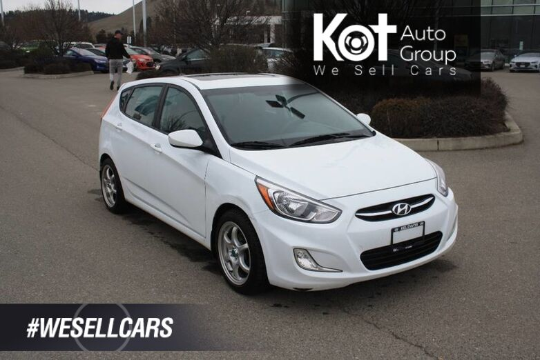 2017 Hyundai Accent SE Bluetooth, Heated seats,Sunroof, Power options. Kelowna BC