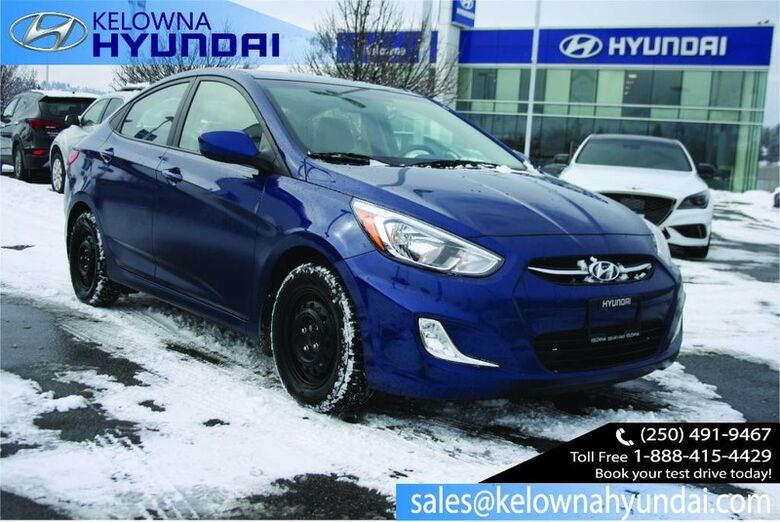 2017 Hyundai Accent SE Heated seats, Bluetooth, Fog lights Kelowna BC