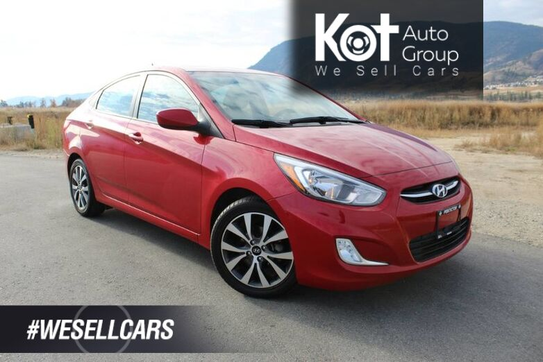 2017 Hyundai Accent SE, Low Km's, Great on Fuel, Sunroof Kelowna BC