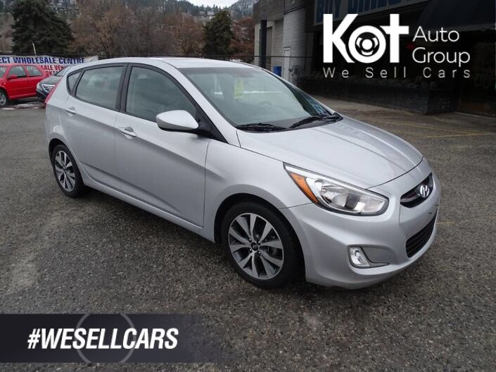 2017 Hyundai Accent SE, Moonroof, Heated Seats, Low KM's, Hatchback Kelowna BC