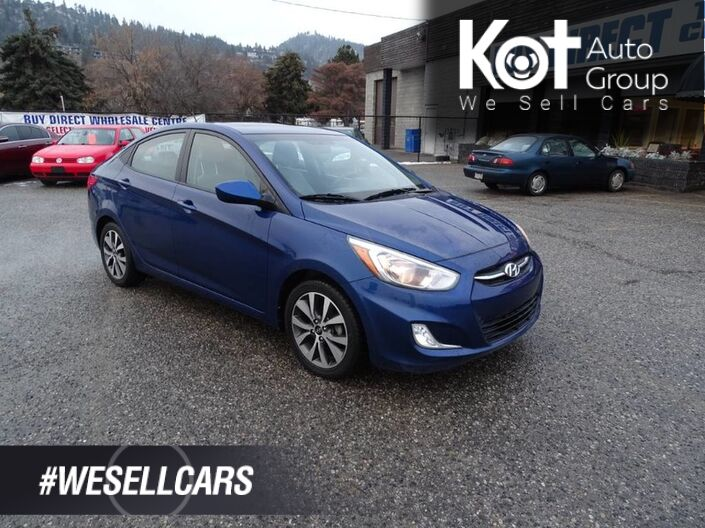 2017 Hyundai Accent SE, Sunroof, Eco Mode, Heated Seats, Low KM's Kelowna BC