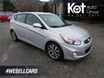 2017 Hyundai Accent SE, Sunroof, Heated Seats, Low KM's, Hatchback