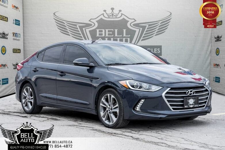 2017 Hyundai Elantra GLS, BACK-UP CAMERA, POWERED SUNROOF, BLUETOOTH Toronto ON