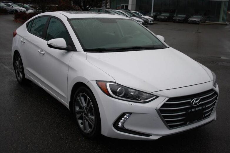 2017 Hyundai Elantra GLS Bluetooth, Power options, Heated seats, sunroof, blind spot Kelowna BC