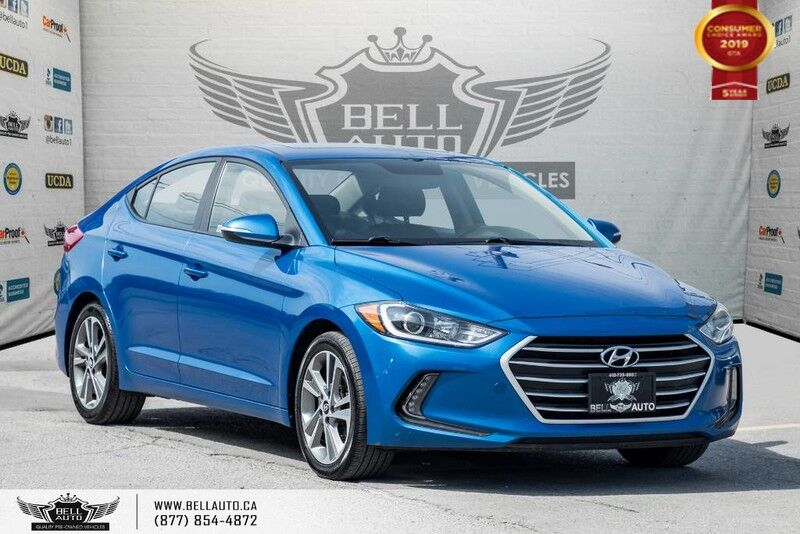 2017 Hyundai Elantra GLS, NO ACCIDENT, BACK-UP CAM, BLIND SPOT, SUNROOF Toronto ON