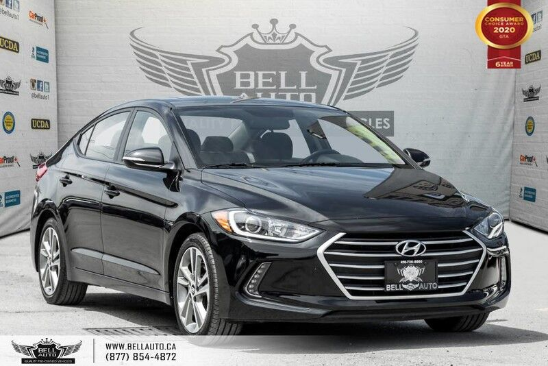 2017 Hyundai Elantra GLS, NO ACCIDENT, REAR CAM, SUNROOF, B.SPOT, SENSORS