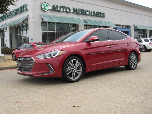 2017 Hyundai Elantra Limited 2.0L 4 CYLINDER, AUTOMATIC, AUXILIARY INPUT,HEATED SEATS, BACK-UP CAMERA, BLIND SPOT MONITOR Plano TX
