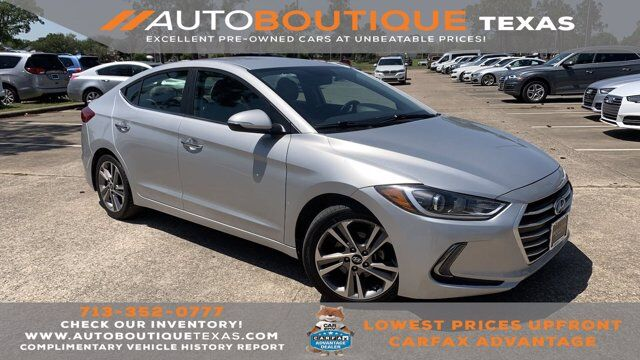 2017 Hyundai Elantra Limited Houston TX
