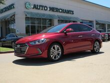 2017_Hyundai_Elantra_Limited *Limited Tech Package* LEATHER, BACKUP CAMERA, BLIND SPOT MONITOR, HTD SEATS, NAVIGATION_ Plano TX