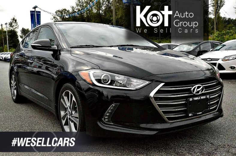 2017 Hyundai Elantra Limited Maple Ridge BC