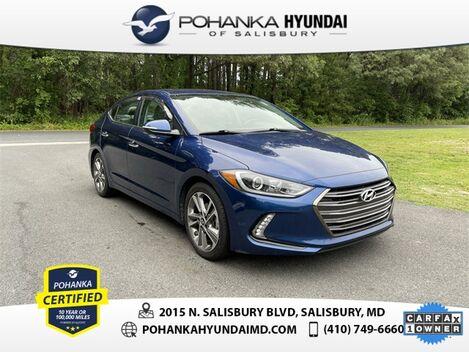 2017_Hyundai_Elantra_Limited **ONE OWNER**_ Salisbury MD