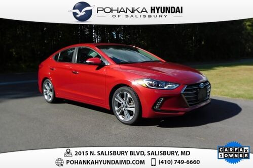 2017_Hyundai_Elantra_Limited **ONE OWNER**MOONROOF**HEATED LEATHER SEATS**_ Salisbury MD
