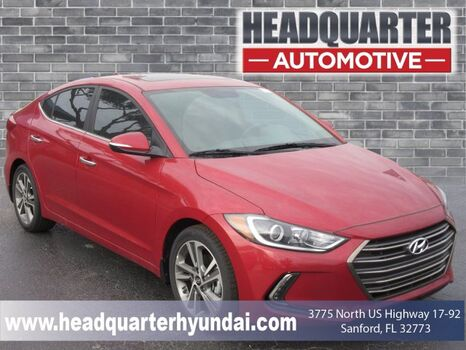 2017_Hyundai_Elantra_Limited_ Orlando FL