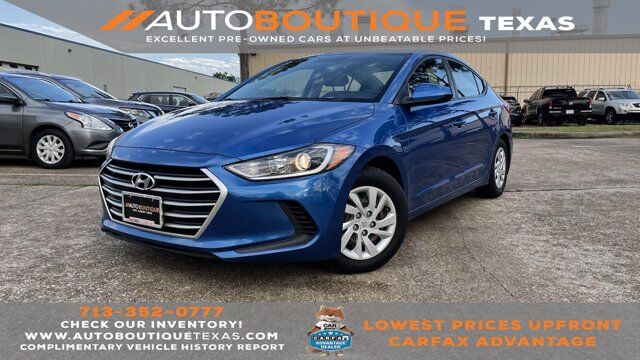 2017 Hyundai Elantra SE Houston TX