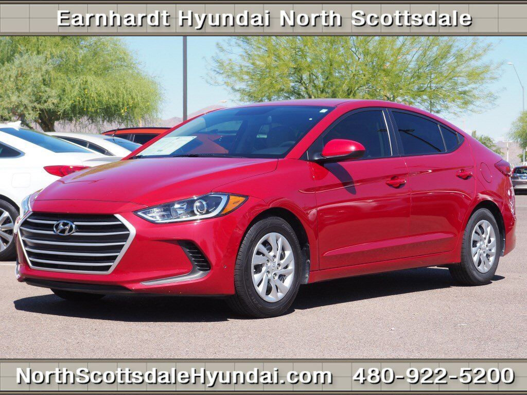2017 hyundai elantra se scottsdale az 30463749. Black Bedroom Furniture Sets. Home Design Ideas