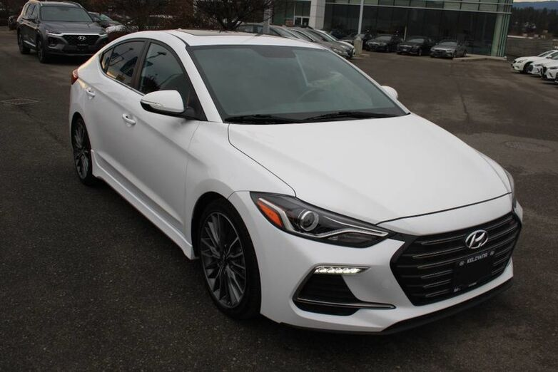 2017 Hyundai Elantra Sport One owner, No accident.Bluetooth, Power options, 201 HP Penticton BC